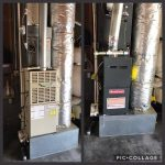 Fresno Heating and Cooling - Heater Furnace Replacement Before and After